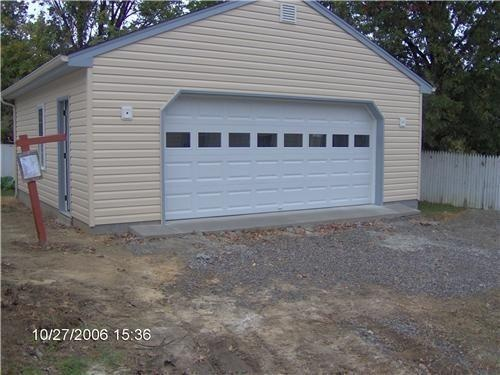 Garages 24 x 24 for 24x24 garage package